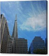 San Francisco Cityscape Canvas Print