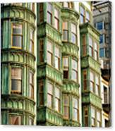 San Francisco Color Canvas Print