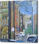 San Francisco Commute Canvas Print