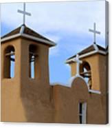 San Francisco De Asis Mission Bell Towers Canvas Print
