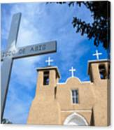 San Francisco De Asis - Rancho De Taos Canvas Print
