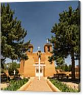 San Francisco De Assisi Mission Church Taos New Mexico 2 Canvas Print