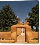San Francisco De Assisi Mission Church Taos New Mexico Canvas Print