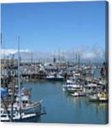 San Francisco Fishing Fleet Canvas Print