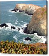Marin Headlands Bunker Canvas Print