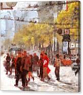 San Francisco Market Street . 40d3701 Canvas Print