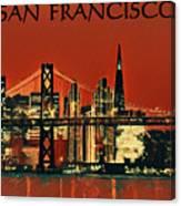 San Francisco Poster Canvas Print