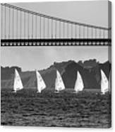 San Francisco Seascape Canvas Print