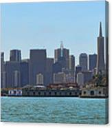 San Francisco Skyline -1 Canvas Print