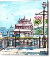 San Francisco Spirit Boat Canvas Print