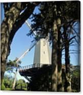 San Francisco Windmills Canvas Print
