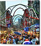 San Gennaro Festival Canvas Print