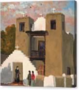 San Geronimo De Taos Spanish Mission Canvas Print