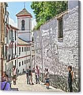San Gregorio Granada Canvas Print