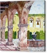 San Juan Capistrano Courtyard Canvas Print