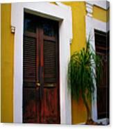San Juan Doors Canvas Print