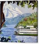 San Juan Ferry Canvas Print