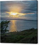 San Juan Island Sunset Canvas Print
