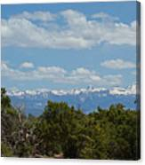San Juan Mountains Canvas Print