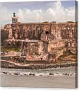 San Juan Puerto Rico Fort  Canvas Print