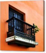 San Juan Window Canvas Print