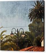 San Luis Obispo Railroad Depot Canvas Print