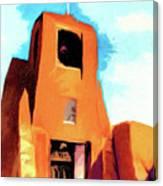 San Miguel Santa Fe Canvas Print