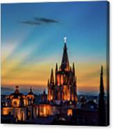 San Miguel Sunset Canvas Print