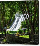 San Saba Waterfall Canvas Print