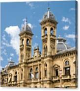 City Hall - San Sebastian - Spain Canvas Print