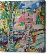 Sanctuario At Chimayo New Mexico Canvas Print