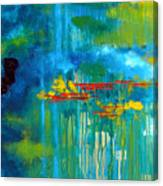 Sanctuary Abstract Painting Canvas Print
