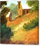Sanctuary At Lamy New Mexico Canvas Print