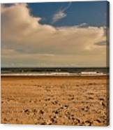 Sand And Clouds Canvas Print
