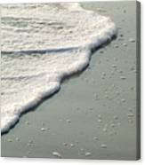 Sand And Foam Canvas Print