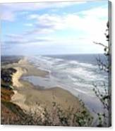 Sand And Sea 7 Canvas Print