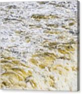 Sand Beach And Wave 5 Canvas Print