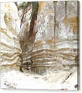 Sand Canyon Of San Clemente Canvas Print