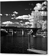 Sand Creek In Infrared Canvas Print