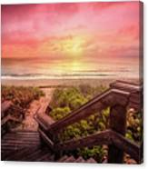 Sand Dune Morning Canvas Print