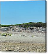 Sand Dune Panorama  Canvas Print