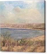 Sand Dunes, St. Ouens Bay Canvas Print
