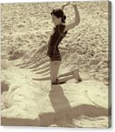 Sand Horse Canvas Print