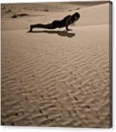 Sand Plank Canvas Print