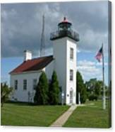 Sand Point Lighthouse Canvas Print