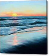 Sand Reflections Canvas Print