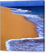 Sand Sea Sky Canvas Print
