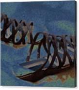 Sand Shoes II Canvas Print