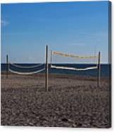 Sand Volleyball Canvas Print