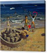 Sandcastle Canvas Print
